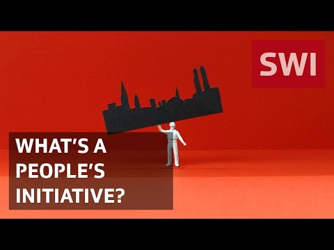 What's a people's or citizens' initiative?