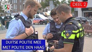 Politie Den Haag  Scheveningen  Samenwerking met de Polizei  Brand, Aanhouding, gestolen