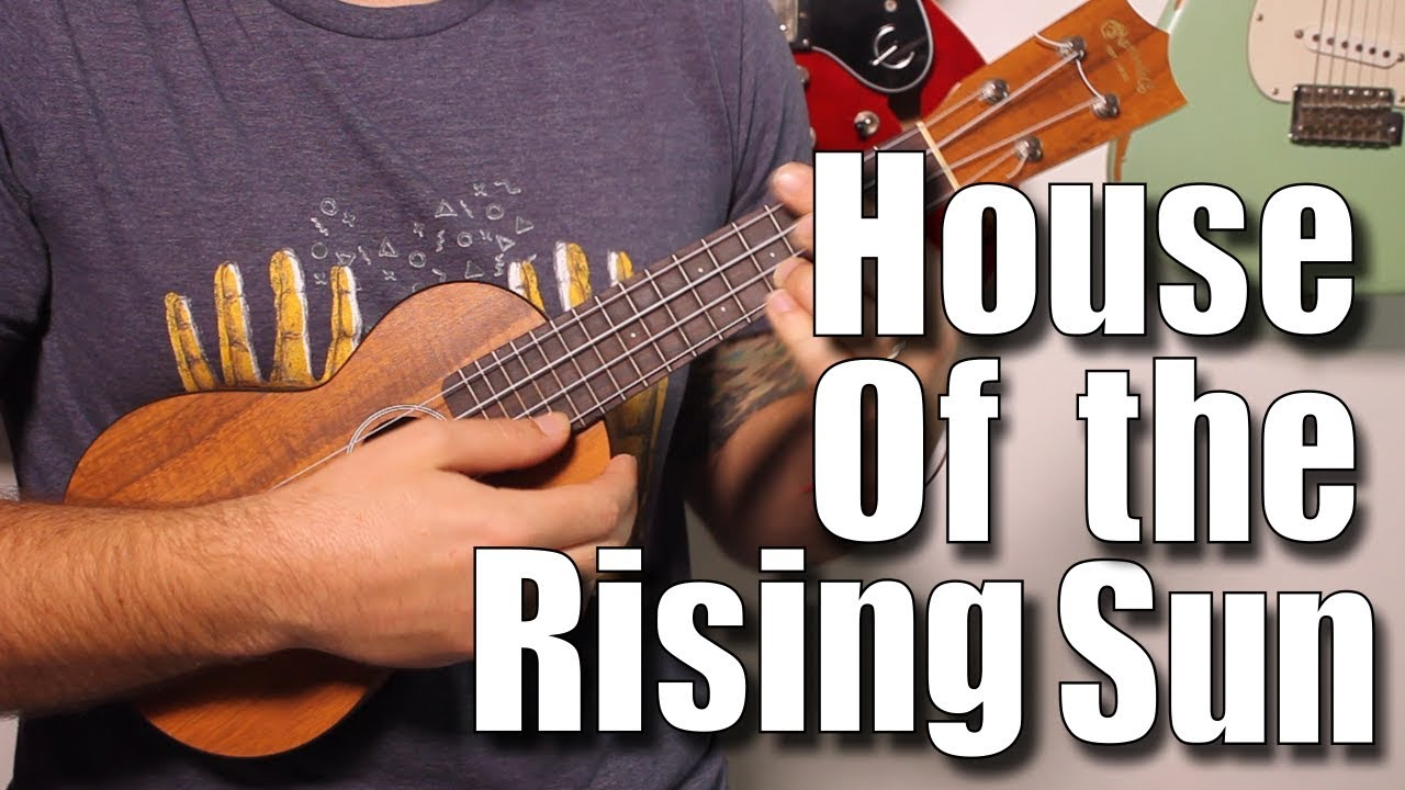 The rising sun ukulele