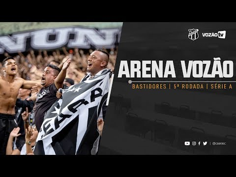 BASTIDORES Ceará 2 x 1 Grêmio  Vozão TV