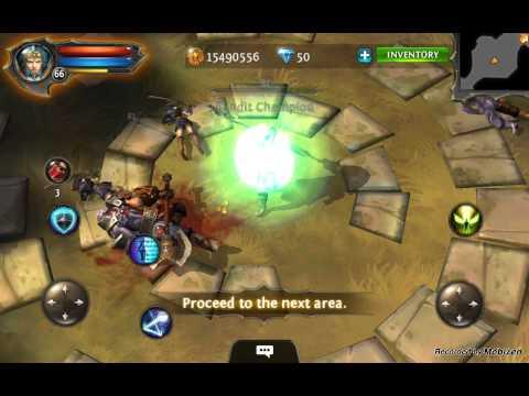 Dungeon Hunter 4, Lvl 66 Mariusz K. :)