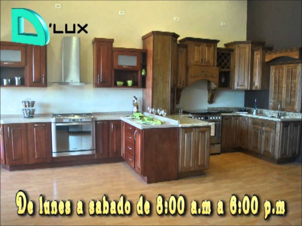 D 39 lux cocinas integrales en cd ju rez youtube for Cocinas integrales rusticas