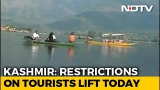 Jammu And Kashmir Reopens To Tourists Two Months After Travel Advisory