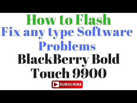 How to Flash BlackBerry Bold Touch 9900 by GsmHelpFul - YouTube