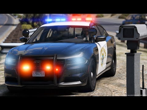 [GTA-LSPDFR] L.A.P.D Highway Patrol | Los Angeles Police Department #1