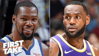 Kevin Durant could surpass LeBron with the Nets - Max Kellerman | First Take