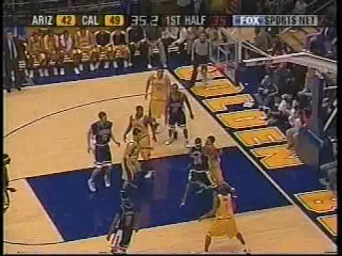 2004 Cal Basketball defeats Arizona 87-83 at Haas