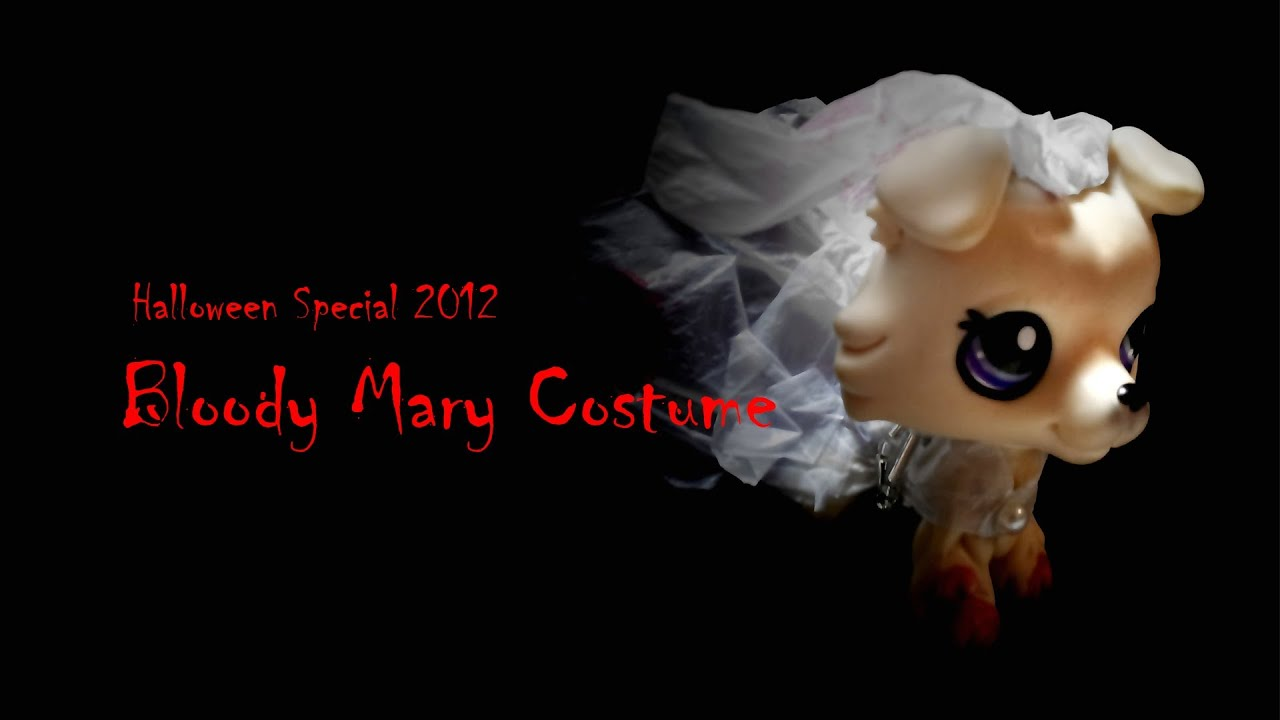 how to halloween special 2012 1 bloody mary costume lps youtube