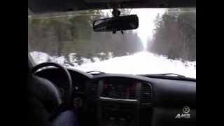 Подготовка внедорожника Toyota land Cruiser 105 (1 серия, тест драйв)(Тест драйв Toyota Land Cruiser 105, разгон до 100 кмч, прохождение ям на скорости, преодоление препятствий. Проект от..., 2014-02-13T10:47:07.000Z)