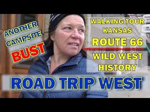 Cross Country Road Trip: Baxter Springs, Kansas Rte 66