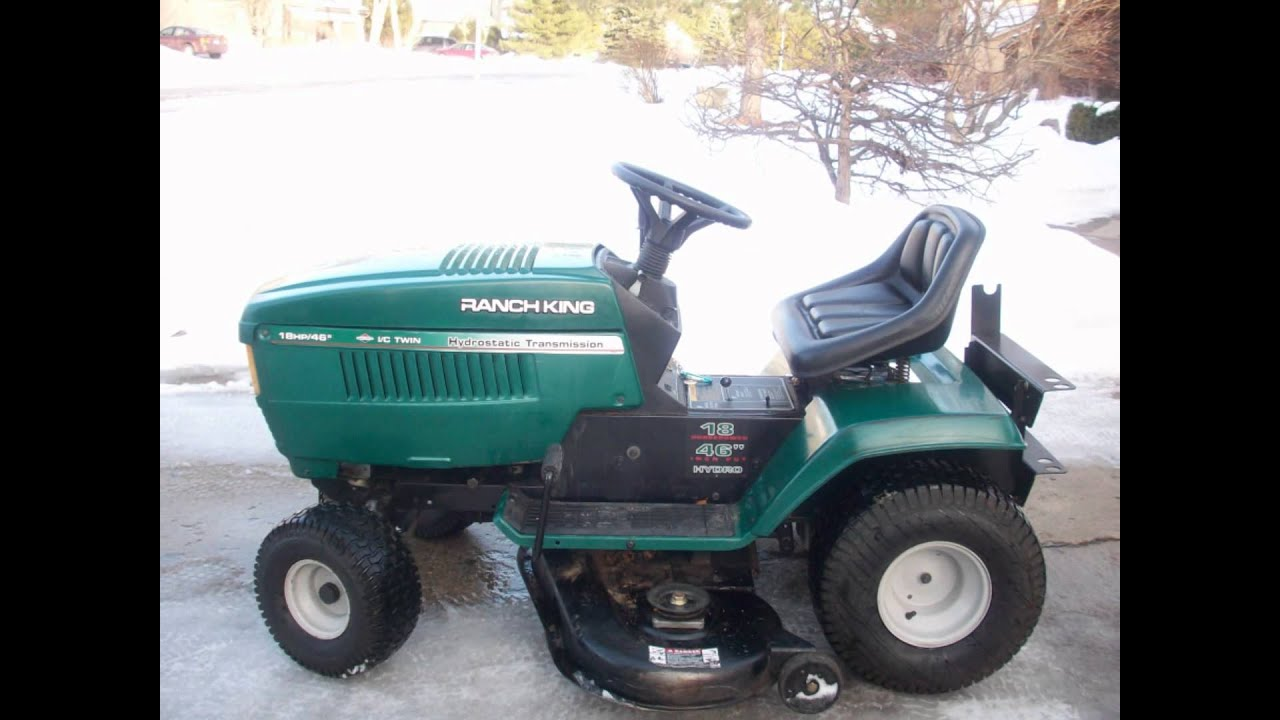 Mtd Ranch King Lawn Tractor Wiring Diagram - Trusted Wiring Diagram