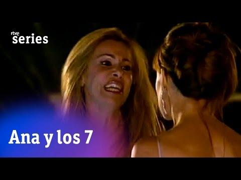 Ana y los siete: Ana tira a Alexia a la piscina  RTVE Series