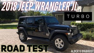 homepage tile video photo for MY NEW 2018 JEEP JL TURBO ROAD TEST
