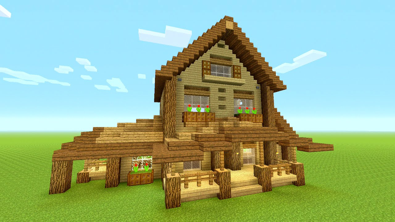 Minecraft wood house images galleries for House build