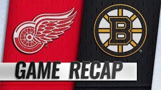 Pastrnak tallies hat trick, 100th NHL goal in 8-2 win