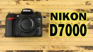 распаковка Nikon D7000 Body
