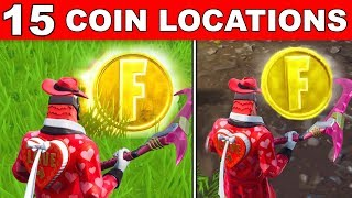 Collect Coins in Featured Creative Islands - ALL 15 LOCATIONS OVERTIME CHALLENGES FORTNITE