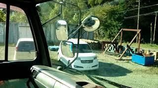 На новой работе водителя в японии(1)