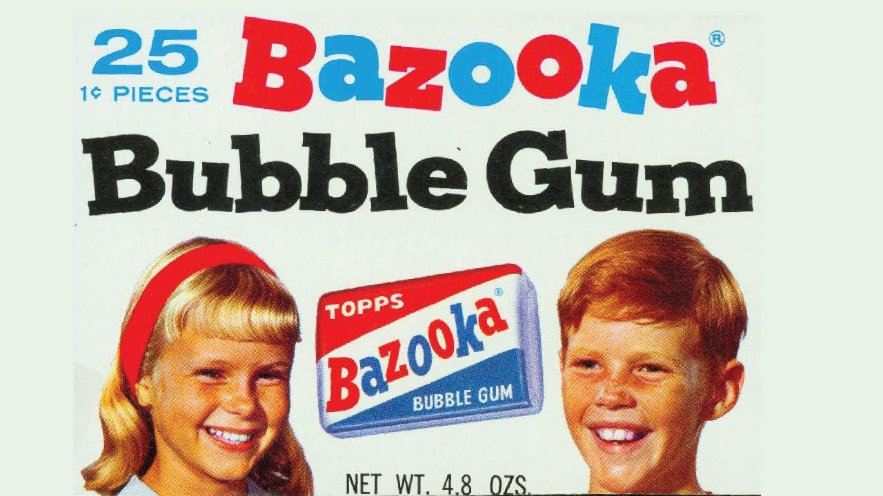 Fun with Bazooka Bubble Gum - Life in America