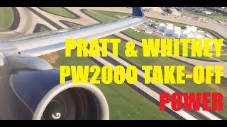 Delta Air Lines Boeing 757-300 Pratt & Whitney PW2000 PW2040 Take Off