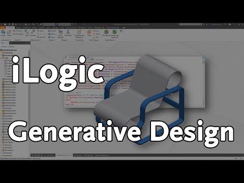 iLogic - A Generative Approach | Autodesk Virtual Academy
