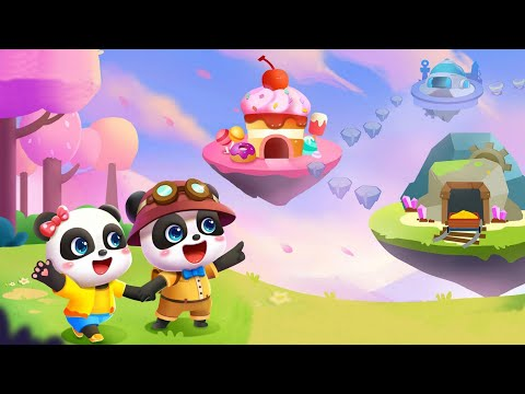 Little Panda's Treasure Adventure - Help Treasure Hunt Team and Find Treasure Chests - Babybus Games |