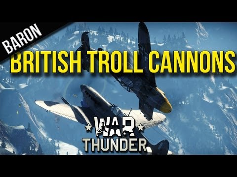 War Thunder - Beaufighter and Boomerang Trolling (Ground Forces Tank Challenge 9)