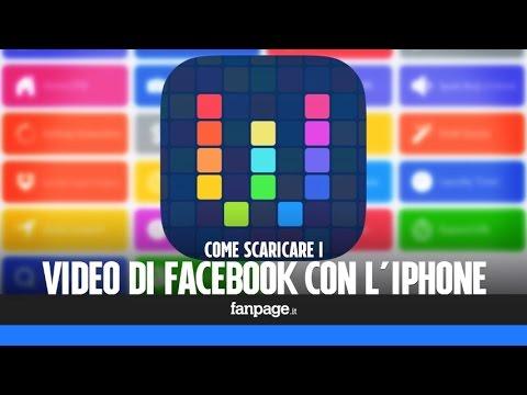 Scaricare un video Facebook con l'iPhone