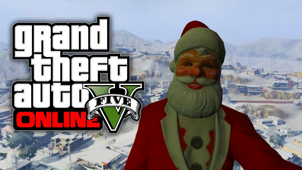 Gta 5 Online All Christmas Masks.Gta 5 Christmas Dlc 2019 Christmas 2019