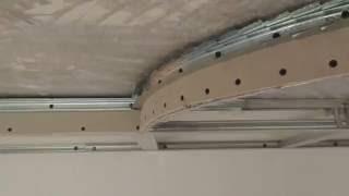 Самоучитель по монтажу. Потолок из гипсокартона с подсветкой и светильниками -Урок 9
