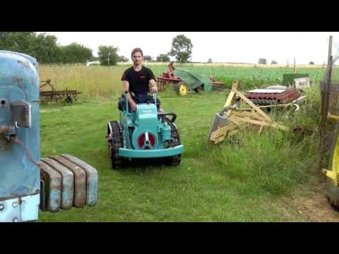 how to start a victor 16 inch reel mover