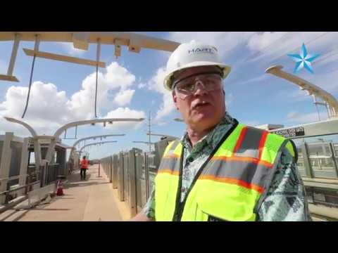 A Sneak Peek Inside Of The Mostly Completed Honolulu Rail Stations