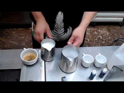 Latte art guatemala