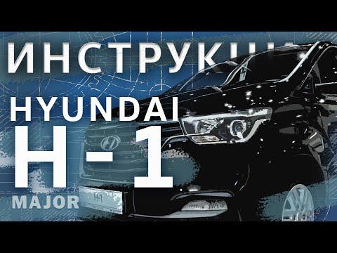 Инструкция Hyundai H1 2020