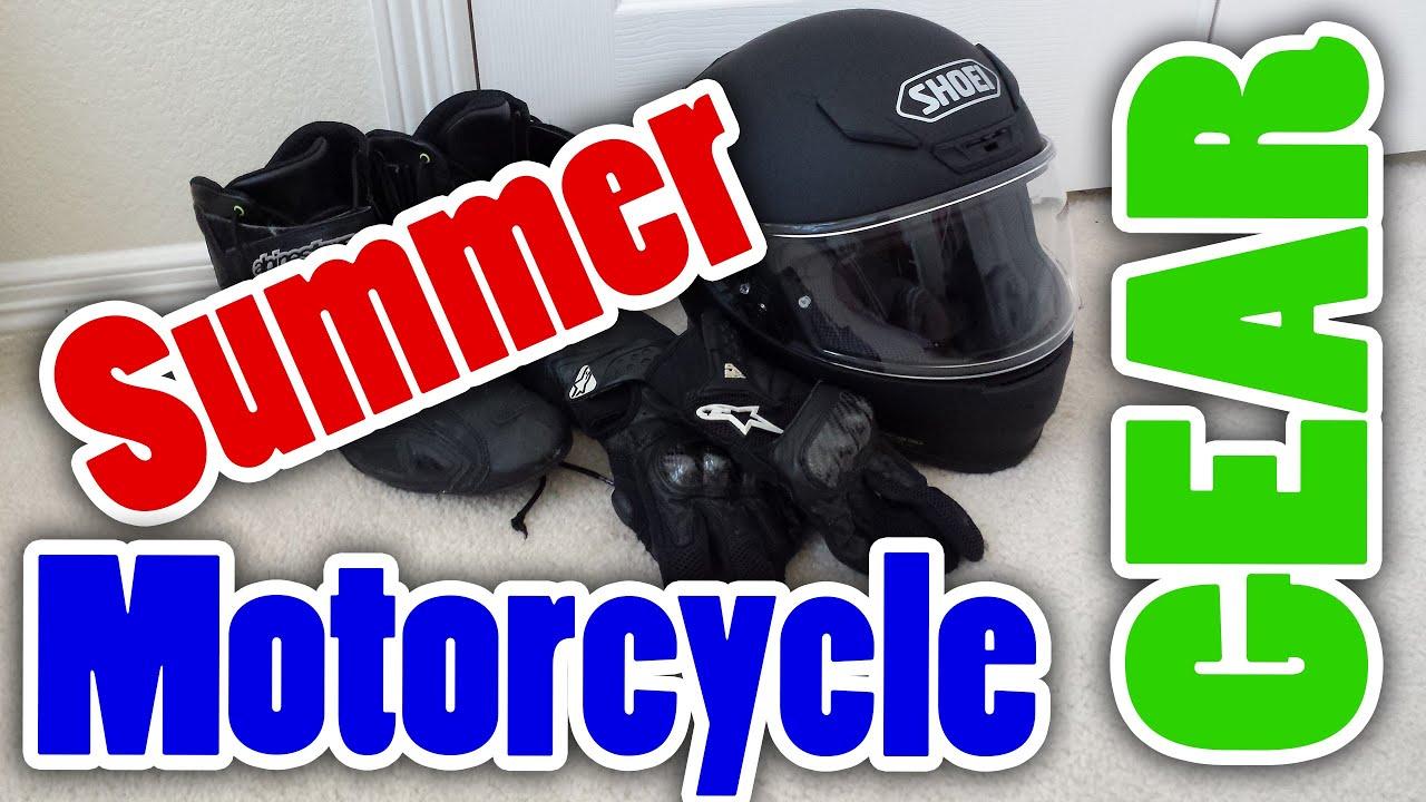 BEST SUMMER MOTORCYCLE GEAR! - YouTube