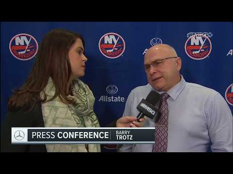 Barry Trotz: We Sat Back Too Much in the 2nd & 3rd Periods | New York Islanders Postgame