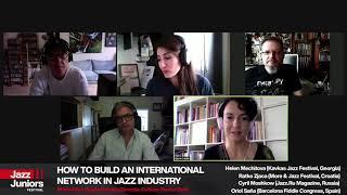 Jazz Juniors Network / HOW TO BUILT AN INTERNATIONAL NETWORK IN JAZZ INDUSTRY