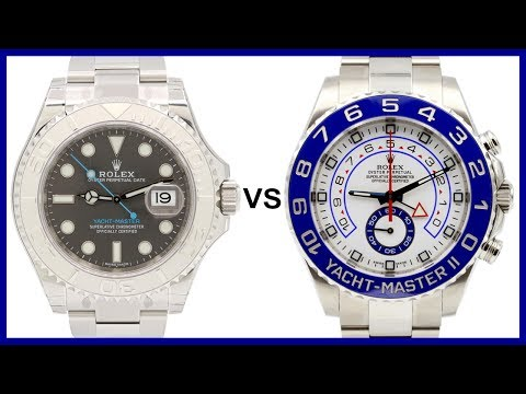 Rolex Yacht-Master 40mm vs Yacht-Master II 44 mm - COMPARISON