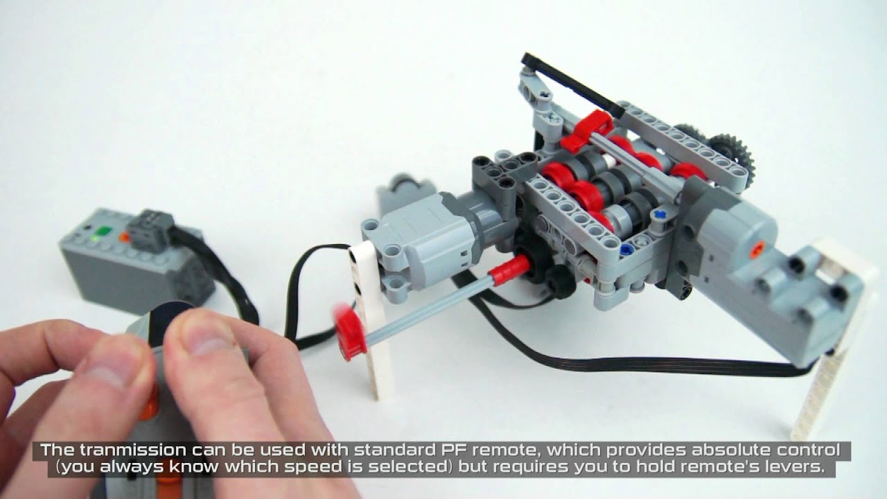 Lego Technic 6 Sd Rc Servo Transmission