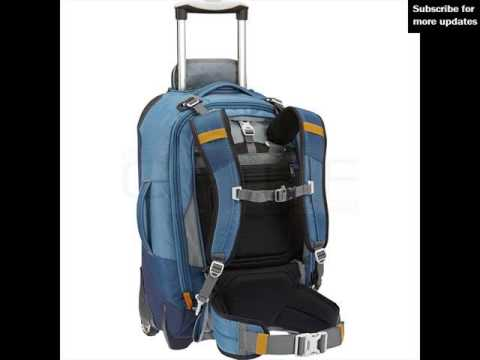 wheeled backpack luggage bag ideas