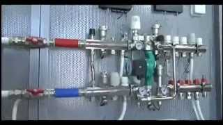 видео Водяное напольное отопление