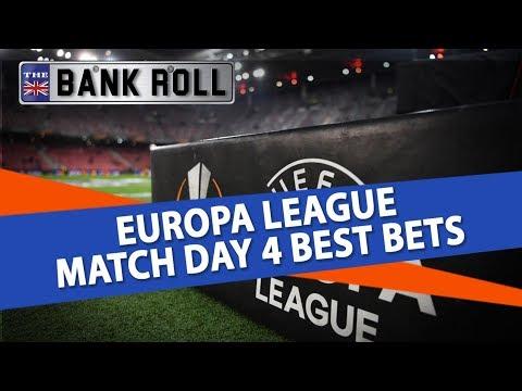 Europa League Betting Tips Match Day 4 Best Bets | Team Bankroll Share their Winning Soccer Picks