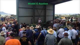 John Deere Tractor Auction  - Model A & G under the Hammer!