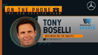 Tony Boselli on the Dan Patrick Show (Full Interview) 04/06/20