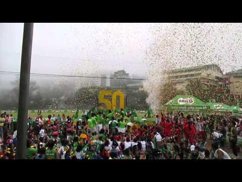 Confetti Blizzard for MILO LITTLE OLYMPICS 2014 LUZON (BAGUIO CITY)