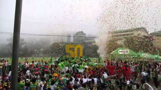 Confetti Blizzard for MILO LITTLE OLYMPICS 2014 LUZON (BAGUIO CITY)