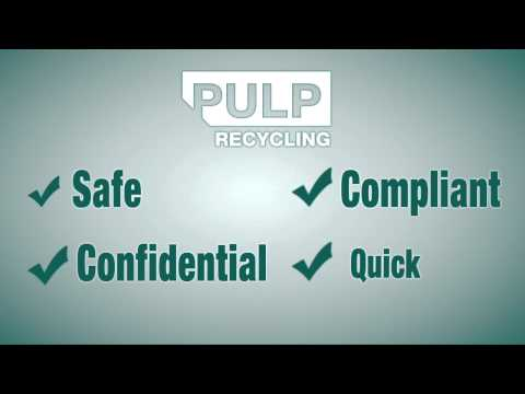 PULP Recycling: Reasons to Use a Confidential Shredding Service