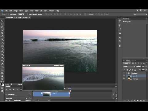 Basics of Photoshop CS6 Video editing