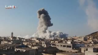 Попадание Российских крылатых ракет в  Сирии, Алеппо