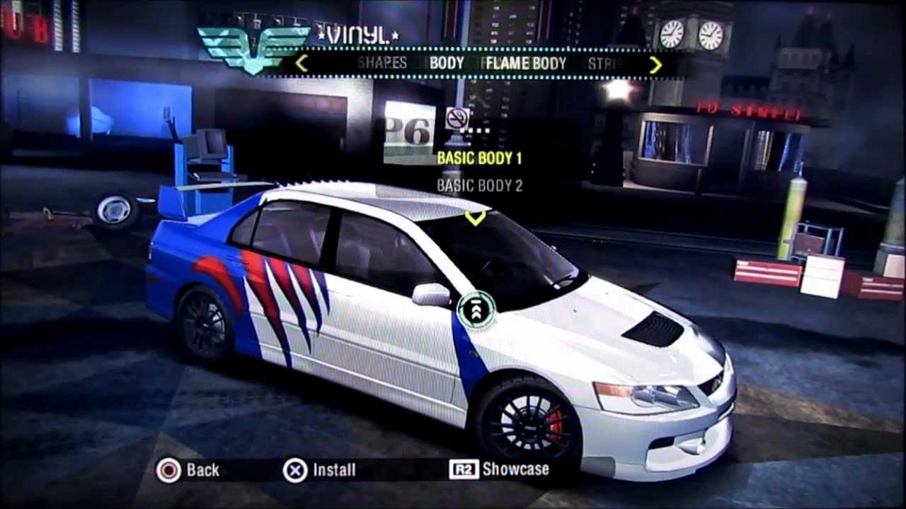 Need For Speed Carbon Earl S Car Tutorial Hd Youtube